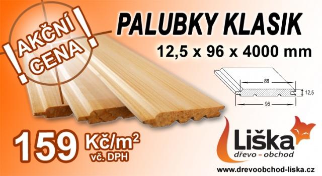 dřevěné kvalitní palubky