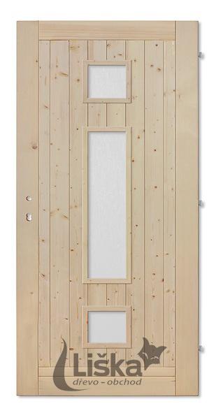 palubkové dveře Liška